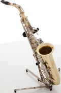 Musical Instruments:Horns & Wind Instruments, Selmer AS300 Brass Alto Saxophone, Serial # 1284830. ...