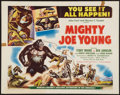 "Movie Posters:Horror, Mighty Joe Young (RKO, 1949). Half Sheet (22"" X 28"") Style A. Horror.. ..."