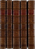 Books:Fine Bindings & Library Sets, Alexander Pope. The Works of Alexander Pope, Esq. WithHis Last Corrections, Additions, and Improvements. London...(Total: 19 Items)