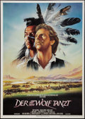 "Movie Posters:Western, Dances with Wolves (Constantin Films, 1990). German A0 (33"" X 47"").Western.. ..."