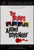 "Movie Posters:Rock and Roll, A Hard Day's Night (Miramax, R-1999). 35th Anniversary One Sheet(27"" X 40"") Advance. Rock and Roll.. ..."