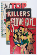 Golden Age (1938-1955):Miscellaneous, Comic Books - Assorted Golden Age Comics Group (Various Publishers, 1940s-'50s).... (Total: 12 Comic Books)