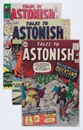 Golden Age (1938-1955):Horror, Tales to Astonish #30, 32, and 45 Group (Marvel, 1962-63)Condition: Average VG.... (Total: 3 Comic Books)