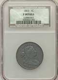 1803 1C Small Date, Small Fraction -- Corroded -- NCS. Fine Details. NGC Census: (26/334). PCGS Population (18/352). Min...