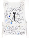 "Football Collectibles:Uniforms, Emmitt Smith Multi Signed Caddy's Bib from ""Troy n Emmitt Celebrity Classic"". ..."