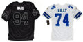 Football Collectibles:Uniforms, Bob Lilly and DeMarcus Ware Signed Dallas Cowboys Jerseys Lot of 2....