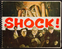 "Shock! Screen Gems Presents Universal Horror (Screen Gems, 1957). Exhibitor Book (Multiple Pages, 11"" X 14.5"")..."