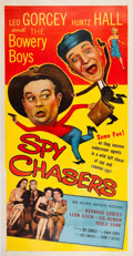 Memorabilia:Poster, Bowery Boys Spy Chasers Movie Poster (Allied Artists,1955)....