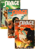 Pulps:Adventure, Doc Savage Group (Street & Smith, 1949) Condition: Average VG-.... (Total: 3 Items)