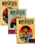 Pulps:Detective, The Whisperer Group (Street & Smith, 1940-41) Condition:Average VG.... (Total: 7 Items)