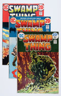 Bronze Age (1970-1979):Horror, Swamp #2-10 Thing Group (DC, 1973-74) Condition: Average FN+....(Total: 9 Comic Books)