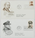Books:Non-fiction, [First Day Covers]. Group of Two Related to US Generals. 1961-1971. Fine....