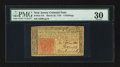 Colonial Notes:New Jersey, New Jersey March 25, 1776 6s PMG Very Fine 30.. ...