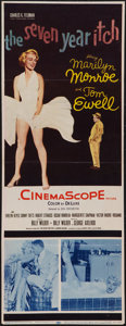 "Movie Posters:Comedy, The Seven Year Itch (20th Century Fox, 1955). Insert (13.5"" X35.5""). Comedy.. ..."