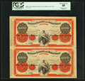 Large Size:Demand Notes, Fr. UNL Hessler X134C $1000 May 1, 1866 Temporary Loan of 1862 NewYork Office of the Assistant Treasurer of the United States...