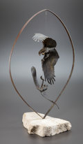 Sculpture, GRANT O. HAGEN (American, 20th Century-). Balance of Nature. Bronze (mobile). 32-1/2 inches (82.6 cm). Ed. 5/20. Signed ...