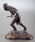 Sculpture, DENNIS SILVERTOOTH (American, 20th Century). The Challenge. Bronze. 13 inches (33.0 cm). Ed. 20/30. Signed and titled on...