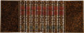 Books:Fine Bindings & Library Sets, William Shakespeare. The Works of Shakespeare: in EightVolumes. Collated with the oldest copies, and corrected: w...(Total: 8 Items)
