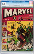 Golden Age (1938-1955):Superhero, Marvel Mystery Comics #10 (Timely, 1940) CGC VF 8.0 Cream to off-white pages....