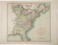 Books:Maps & Atlases, John Cary. A New Map of the United States of America, from theLatest Authorities. [London]: John Cary, 1806.. ...