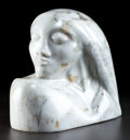 Latin American:Contemporary, FELIPE CASTANEDA (Mexican, b. 1933). Face. Marble. 13 x 8 x15 inches (33.0 x 20.3 x 38.1 cm). ...