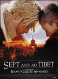 "Movie Posters:Adventure, Seven Years in Tibet (Mandalay, 1997). French Grande (45.5"" X 62"").Adventure.. ..."