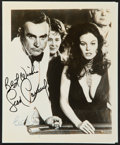 "Movie Posters:James Bond, Diamonds are Forever (United Artists). Autographed Reprint Photo (8"" X 10""). James Bond.. ..."