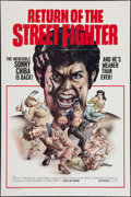 """Movie Posters:Action, Return of the Street Fighter (New Line, 1975). One Sheet (27"""" X 41""""). Action.. ..."""