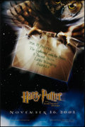 """Movie Posters:Fantasy, Harry Potter and the Sorcerer's Stone (Warner Brothers, 2001). OneSheet (27"""" X 40"""") DS Advance Style A. Fantasy.. ..."""