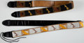 Musical Instruments:Miscellaneous, Vintage Fender Guitar Strap Lot of 2....