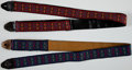 Musical Instruments:Miscellaneous, 1960s-1970s Ace Guitar Strap Lot of 2....