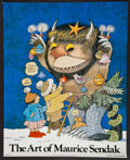 "Books:Prints & Leaves, Maurice Sendak. Full-Color Poster: ""The Art of Maurice Sendak"".Abrams, 1976. Signed by Sendak...."