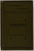 Books:Books about Books, Joseph W. Zaehnsdorf. The Art of Bookbinding. A Practical Treatise. G. Bell and Sons, 1920. First edition. Illus...