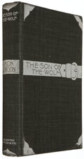 Books:Literature 1900-up, Jack London. The Son of the Wolf. Boston: Houghton, Mifflin,1900. First edition, first issue, London's first b...
