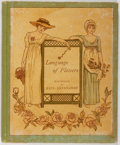 Books:Children's Books, Kate Greenaway, illustrator. Language of Flowers. GeorgeRoutledge and Sons, [N.d.]. First edition. Pictorial bo...