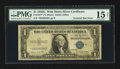 Error Notes:Inverted Third Printings, Fr. 1617* $1 1935G With Motto Silver Certificate Star. PMG ChoiceFine 15.. ...
