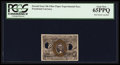 Fractional Currency:Second Issue, Milton 2E10F.4 10¢ Second Issue Experimental PCGS Gem New 65PPQ.. ...