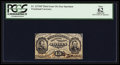 Fractional Currency:Third Issue, Fr. 1273SP 15¢ Third Issue Narrow Margin Face PCGS Apparent New 62.. ...