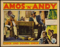 "Movie Posters:Comedy, Check and Double Check (RKO, 1930). Lobby Card (11"" X 14"").Comedy.. ..."