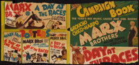 """A Day at the Races (MGM, 1937). Partial Pressbook (4 Pages, 13"""" X 14""""). Comedy"""