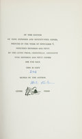 Books:Literature 1900-up, William Faulkner. Notes on a Horse Thief. Greenville,Mississippi: Levee, 1950. First edition, one of 975 copies s...