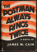 Books:Mystery & Detective Fiction, James M. Cain. The Postman Always Rings Twice. New York:Knopf, 1934. First edition, second printing....