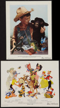 """Movie Posters:Animation, Melody Time & Other Lot (RKO, 1948). Animation Promos (2) (7"""" X 9""""). Animation.. ... (Total: 2 Items)"""