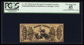 Fractional Currency:Third Issue, Fr. 1357 50¢ Third Issue Justice PCGS Apparent Extremely Fine 45.. ...