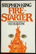 Books:Horror & Supernatural, Stephen King. Firestarter. New York: The Viking Press,[1980]. First trade edition. Inscribed by King nine day...