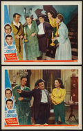 """Movie Posters:Comedy, The Time of Their Lives (Universal, 1946). Lobby Cards (2) (11"""" X14""""). Comedy.. ... (Total: 2 Items)"""