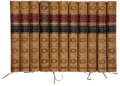 Books:Fine Bindings & Library Sets, [James Hogg]. Tales and Sketches of the Ettrick Shepherd [and]: The Poetical Works of the Ettrick Shepherd.... (Total: 11 Items)