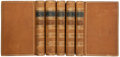 Books:Fine Bindings & Library Sets, Thomas Arnold. History of Rome. London: Fellowes, 1845. Fourth edition.... (Total: 5 Items)