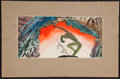 Books:Original Art, Willy Pogany (1882-1955). Watercolor on board of a theatricalproscenium arch. [Jul 28, 1930]. Signed by Pogany on verso....