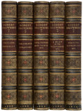 Books:Fine Bindings & Library Sets, Robert Browning. The Poetical Works of Robert Browning. London: Smith, Elder, 1888-1914. 18 small 8vo volumes.... (Total: 18 Items)